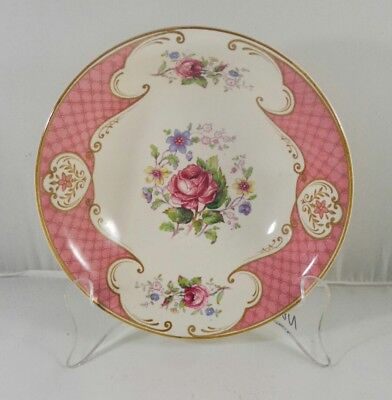 Vintage Myott Staffordshire Rose Pink Roses Bowl English French provincial