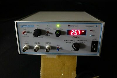 Warner Instruments CL-100 Single Channel Bipolar Temperature Controller - TESTED