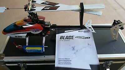 Blade 450 3D Radio / Remote Controlled Helicopter BNF - Bind And Fly