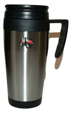 Massey Ferguson Red Tractor Travel Mug stainless steel flask Hot Drink Boxed