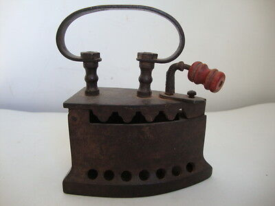 SMALL COAL Cast Iron  *}ANTIQUE Free Shipping Worldwide