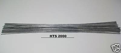 "100 pc - 9"" Aluminum Repair Rods HTS-2000 Brazing No Flux Low Temp w/ Instruct."
