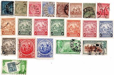 commonwealth stamps, barbados