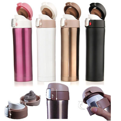 500ML Stainless Steel Travel Mug water Vacuum insulated Thermal Cup Bottle EN