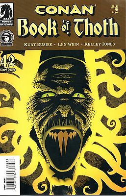 Conan: The Book of Thoth Comic 4 Dark Horse 2006 Busiek Wein Jones