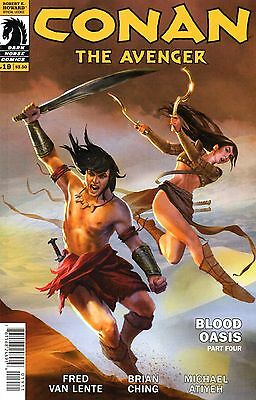 Conan The Avenger Comic 19 Dark Horse 2015 Blood Oasis Part 4 Van Lente Ching