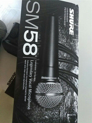 Shure SM58-LC Vocal Microphone Professional Microphone Handheld Mic SM58LC