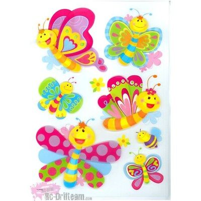 Vinilos Decorativos infantiles Mariposas. Art Decals Kids Wall Stickers Mural