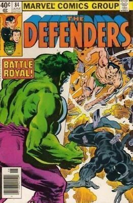BLACK PANTHER DEFENDERS 84 1st SERIES MARVEL AMERICAN COMIC 40 CENTS