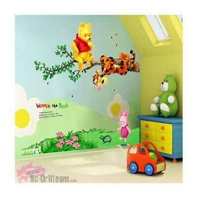 Vinilos Decorativos Winnie the Pooh y sus amigos. Wall Stickers Vinyl Decal