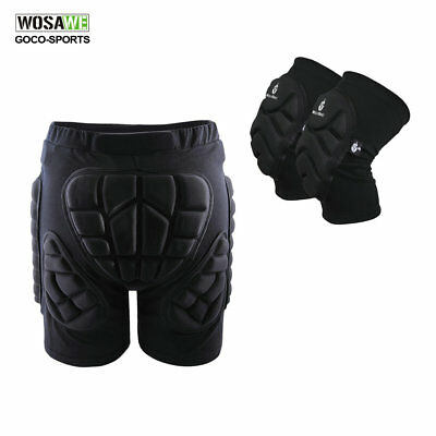 Outdoor Sports Cycling Protective Gear Knee Pads Hip Protection Shorts Safety