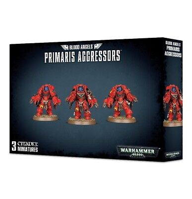 Blood Angels Primaris Aggressors Games Workshop Warhammer 40k Space Marines New