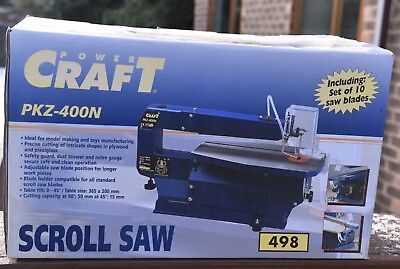 Scroll Saw - Powercraft PKZ 400n.