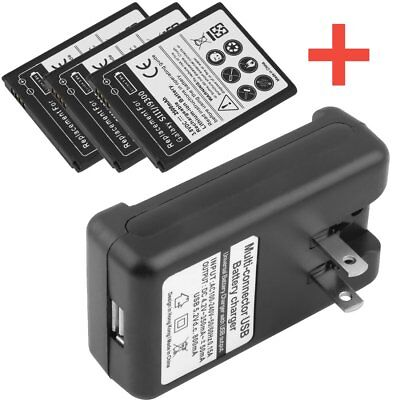 New 2100mAh Battery + Wall Charger EB-L1G6LLU For Samsung Galaxy S3 S III i9300