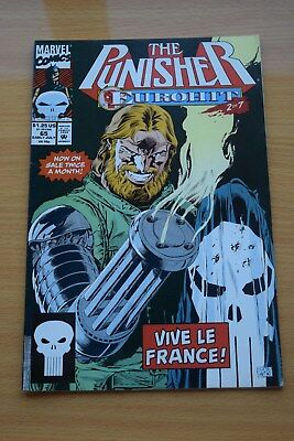 THE PUNISHER Comic - Vol 2 - No 65 - Date 07/1992 - Marvel Comics