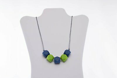 Seahawk-Inspired Silicone Teething Necklace Non Toxic BPA Dioxin Lead Latex Free