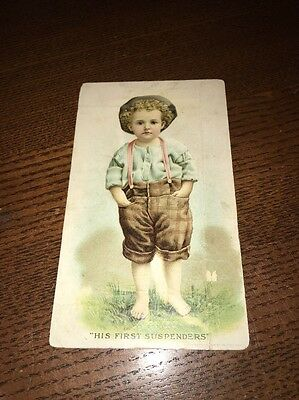 Vintage 1900 Blotter / Trade Card Hires Root Beer Philadelphia Pennsylvania