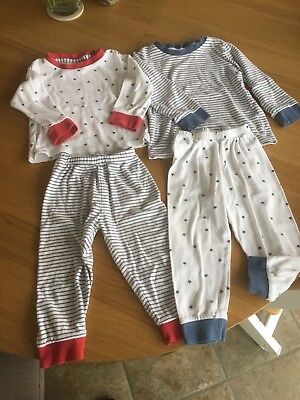 the little white company Unisex Pyjamas 1,5 - 2 Years 18-24 Months
