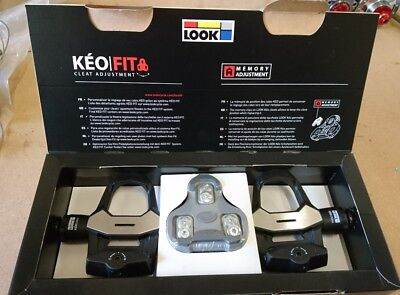 Look Keo 2 max pedals, with grey shimano cleats