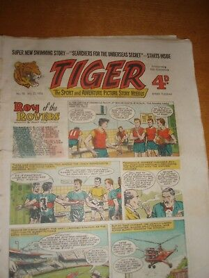 ROY OF THE ROVERS   TIGER   no 98 july 21 1956