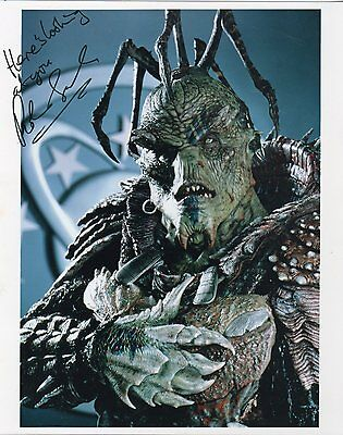 Robin Sachs (Sarris From Galaxy Quest)  Autographed 8X10 Color Photo