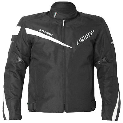 RST 1785 Striker Solid Textile Motorcycle Jacket (Blk) Was £79.99 Now £39.99 *