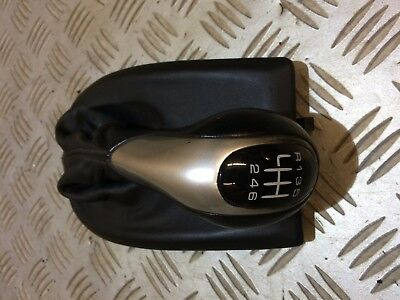 Porsche Boxster 986 911/996 6 Speed Gearknob And Leather Gator Black