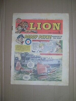 Lion issue dated August 10 1963