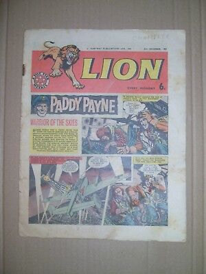 Lion issue dated December 21 1963