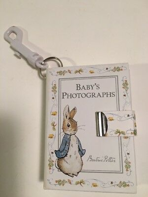 Vintage Baby Photograph Photo Album F. Warne Beatrix Potter Peter Rabbit New 200