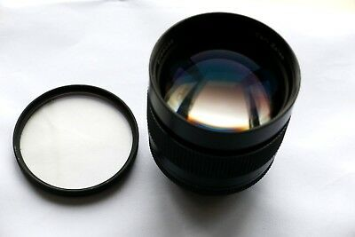 Carl ZeissGerman 85mmf1.4 Planar T coated manual lens for Contax/Yashica SLR