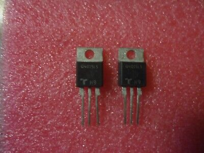 6 Q4015L5 Triac, Teccor  15A 400V To-220Ab,isolated Tab, Elation, Dimmer Etc