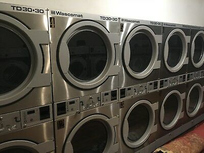 Commercial Laundry Equipment, Washers & Dryers, Wascomat Generation 6, Stainless