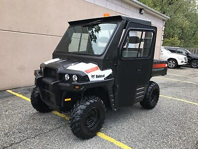 Bobcat 4X4,3400 Full Heated Hard Cab,low Hours,turf Mode,turn Signal Lights,