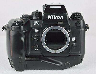 Nikon F4s 35mm SLR Film Camera Body Only...broken shutter..For Repair/Parts Only