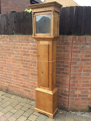 Longcase Grandfather Clock Case Up cycling Project.