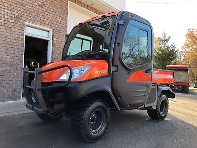 Super Clean Kubota Rtv1100 4X4 Diesel,hard Cab,cold Ac,heater,,fully Hydraulic