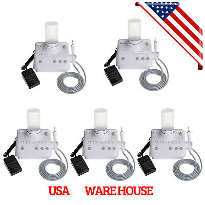 5 Sets Dental Ultrasonic Endo Perio Scaling Scaler +Handpiece fit EMS Woodpecker