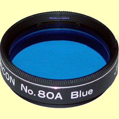 "Lumicon Color Planetary Telescope Filter #80A Blue - 1.25"" # LF1070 JAPAN"