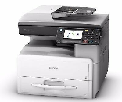 RICOH MP301SPF Black and White Laser Multifunction Printer