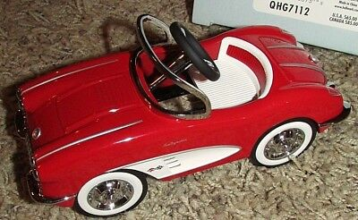 1958 CHEVROLET CORVETTE Kiddie Car Classics Collectible LIMITED EDITION, NEW!!