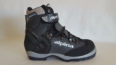 ALPINA BACKCOUNTRY SKI Boots Cross Country BC EU Size Black - Alpina 1550