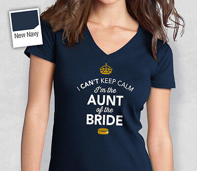 Aunt Of The Bride T Shirt Bridal Gift Present Hen Do Wedding Party