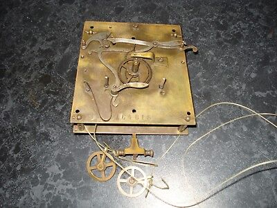 Double Weight Vienna Clock Movement Parts Spares