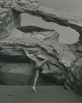 Rare Andre De Dienes Vintage Photograph Of Nude Model