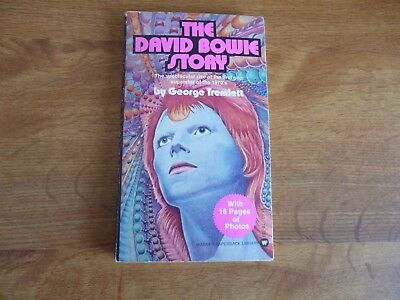 The David Bowie Story - by George Tremlett - paperback book 1975 first printing