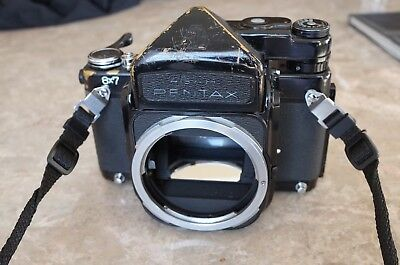 Pentax 6X7 Medium Format SLR Film Camera Body Only MLU