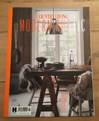 Country Living MODERN RUSTIC Issue #05 BRAND NEW Decor Architecture Interiors