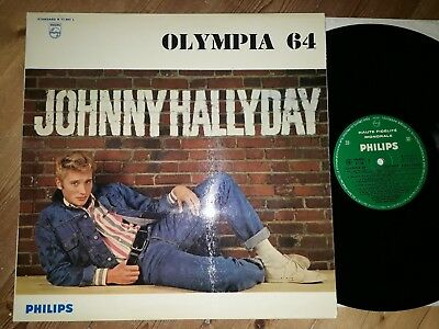 Johnny hallyday -olympia 64 -standad b77.987 l- philips-france -and the showmen