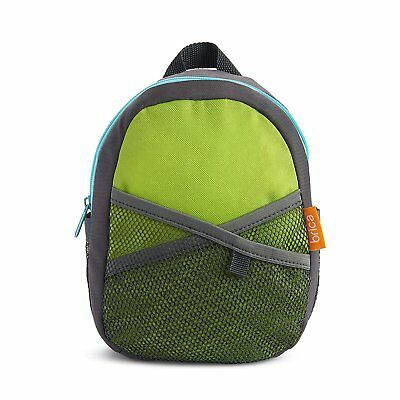 Brica By-My-Side Safety Harness Backpack Color Green Blue Unisex
